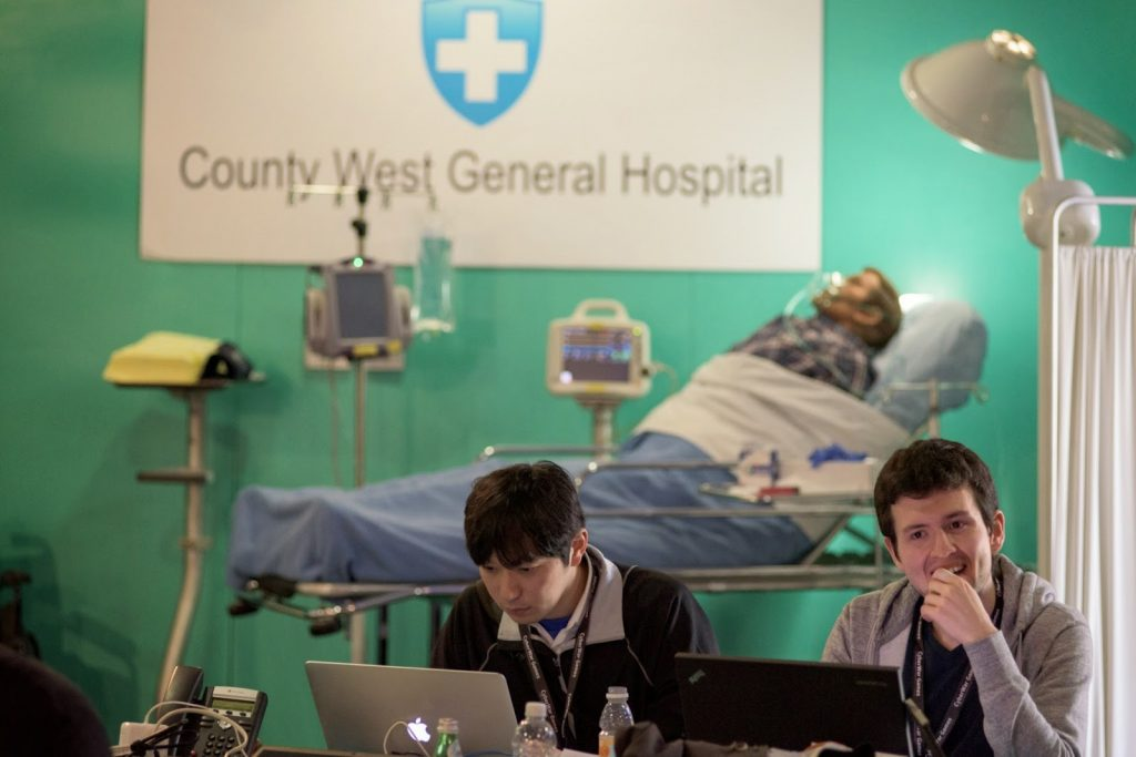 cyberwar gaming prompts healthcare attacks