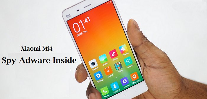 Xiaomi Mi4 Detected with pre installed malware