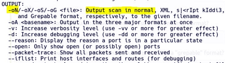 Task 3 Nmap Switches 8