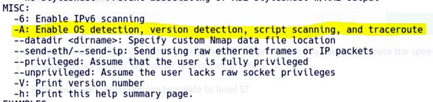Task 3 Nmap Switches 10