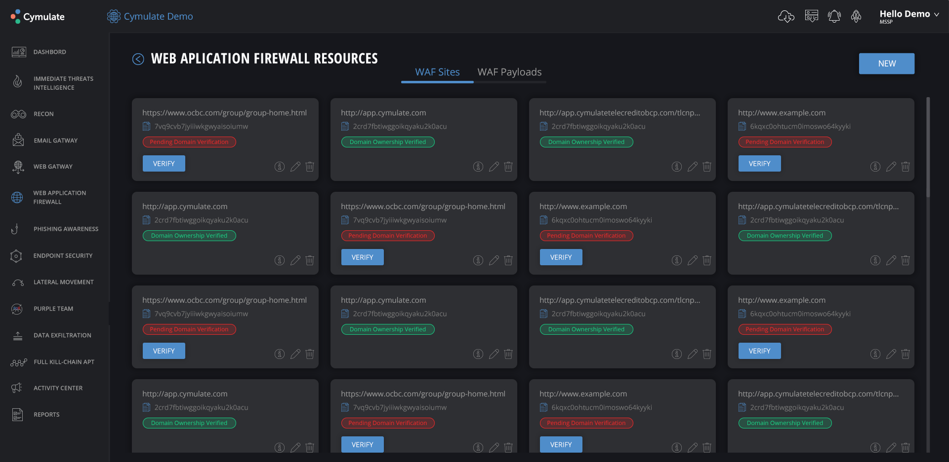 Improved threat response through automated evaluation, prioritization, real-time reports, and guided responses